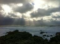 Vista desde el Faro de Laxe