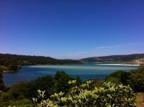 Vista desde la Ría de Corme y Laxe